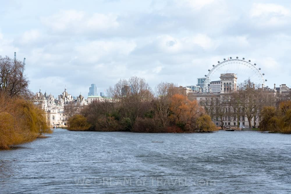 Rvier Thames and the London Eye