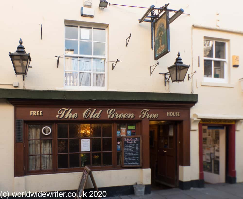 Outside the Old Green Tree
