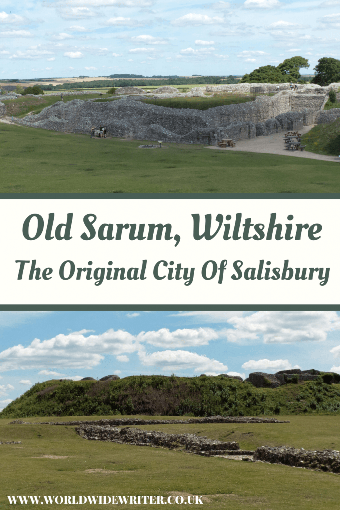 Castle and mound of Old Sarum