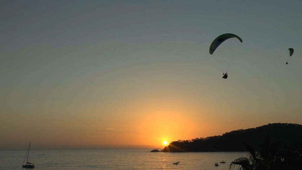 Sunset over Oludeniz Beach