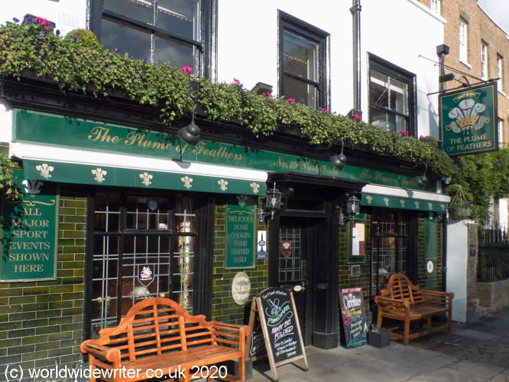 Plume of Feathers - a historic pub