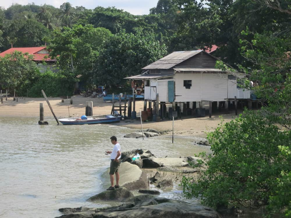 The island of Pulau Ubin
