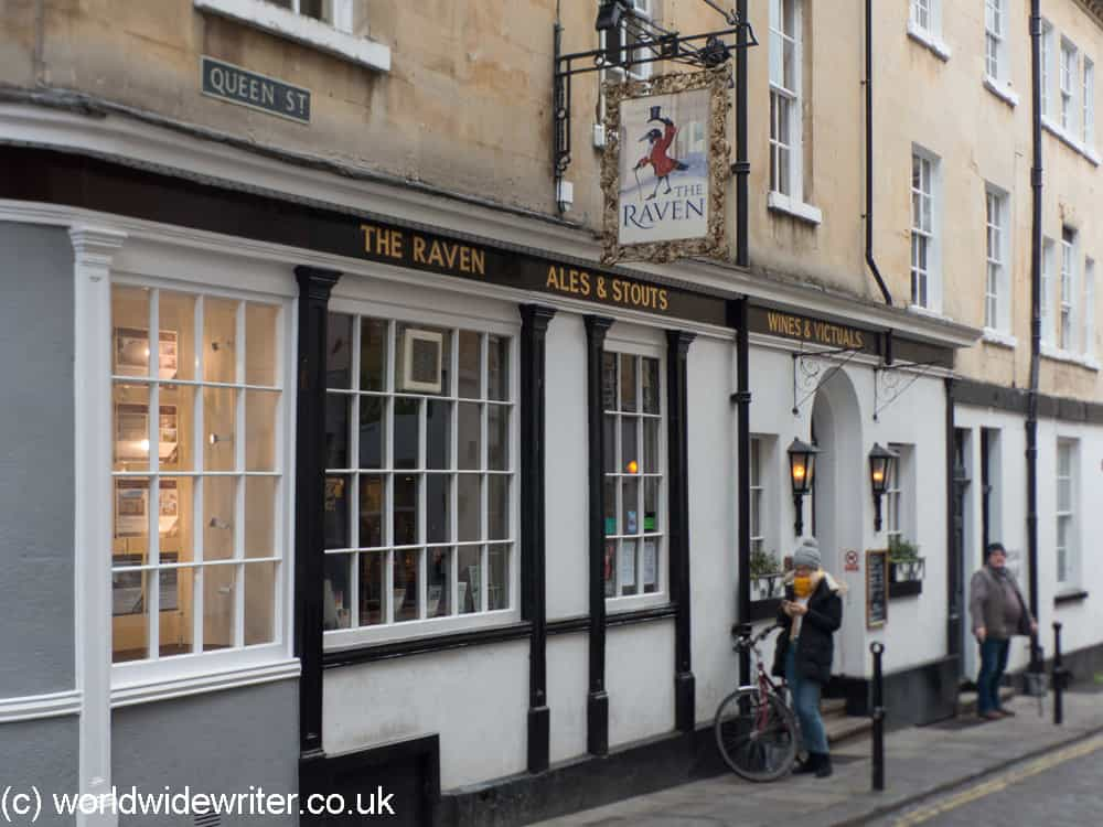 Outside The Raven pub