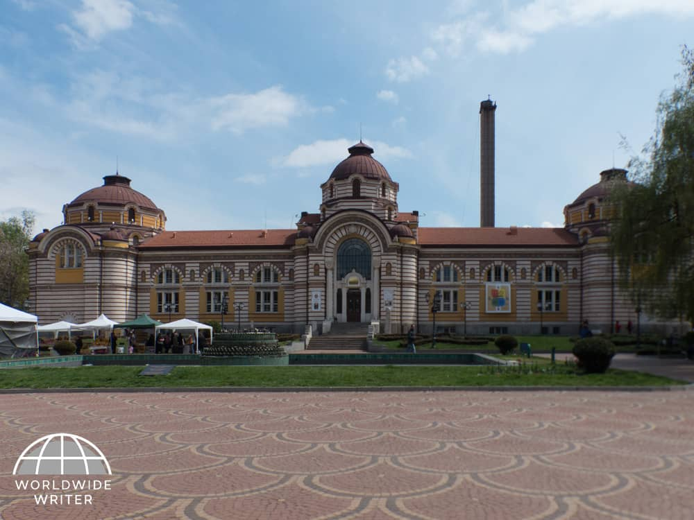 Grand exterior of Regional History Museum
