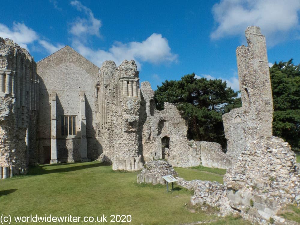 Ruined buildings of Binham Priory