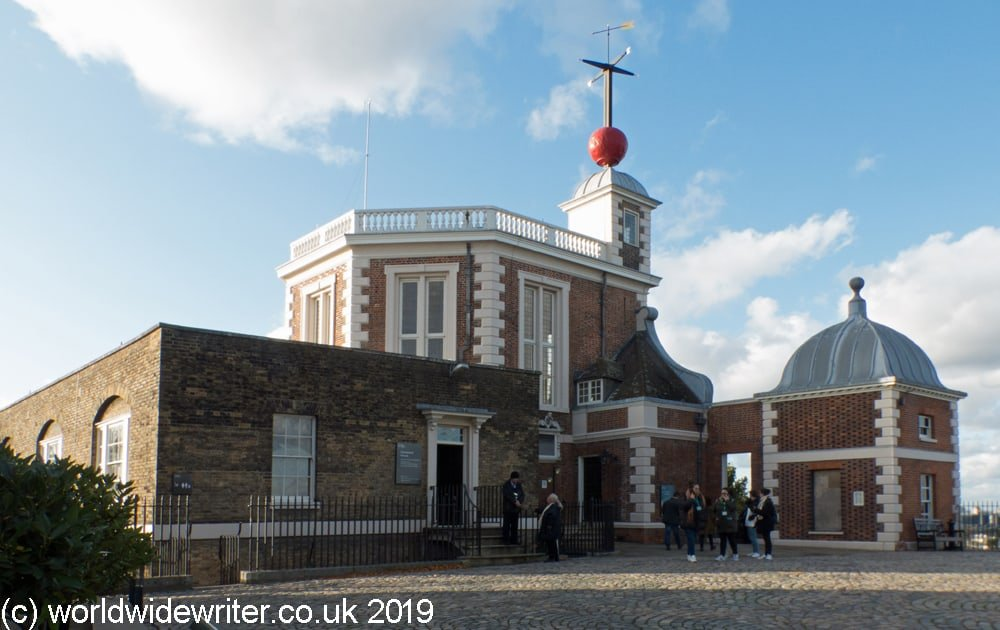 Outside the Royal Observatory