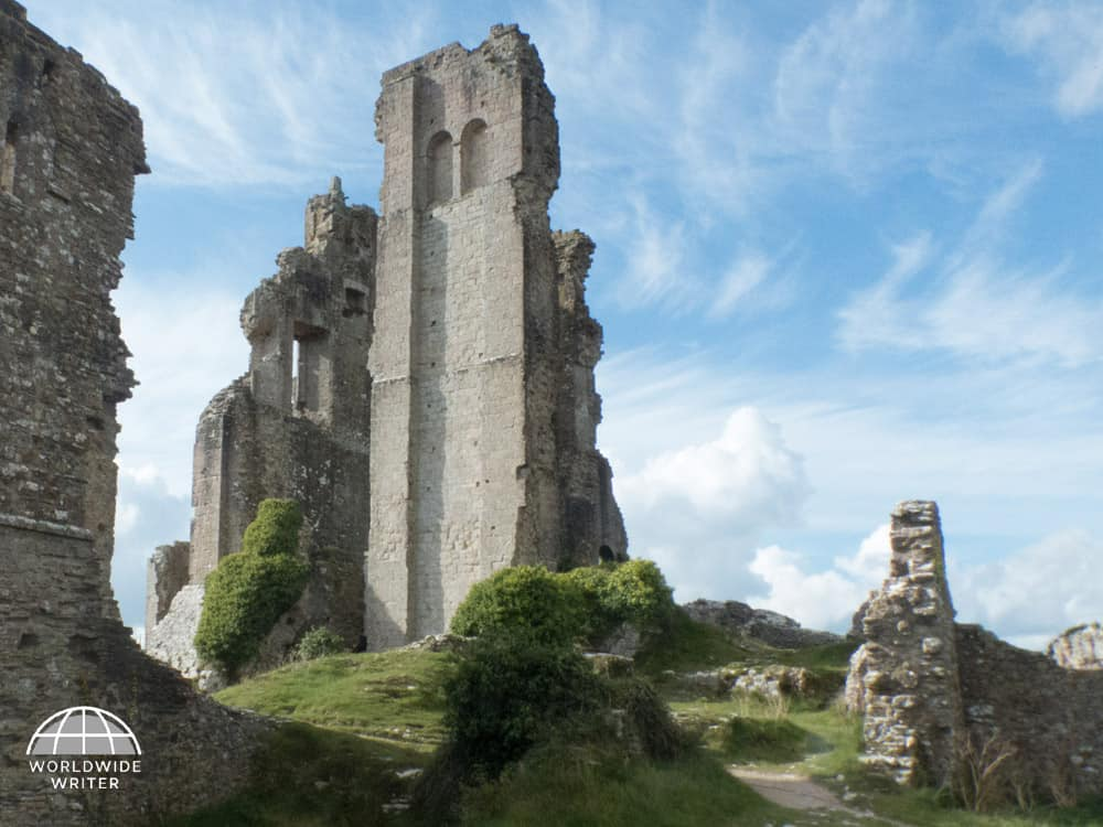Ruins of Corfe Castle