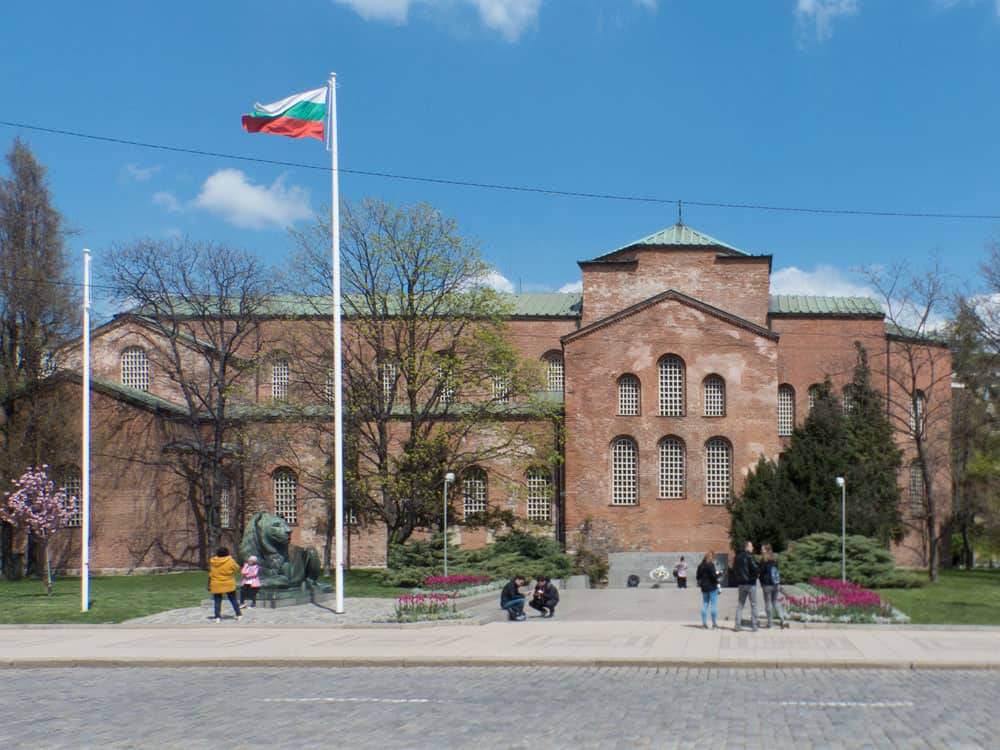 Exterior of Saint Sofia Church