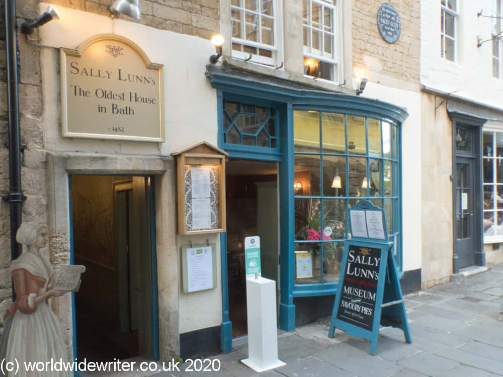 Sally Lunn's, a medieval house in  Bath
