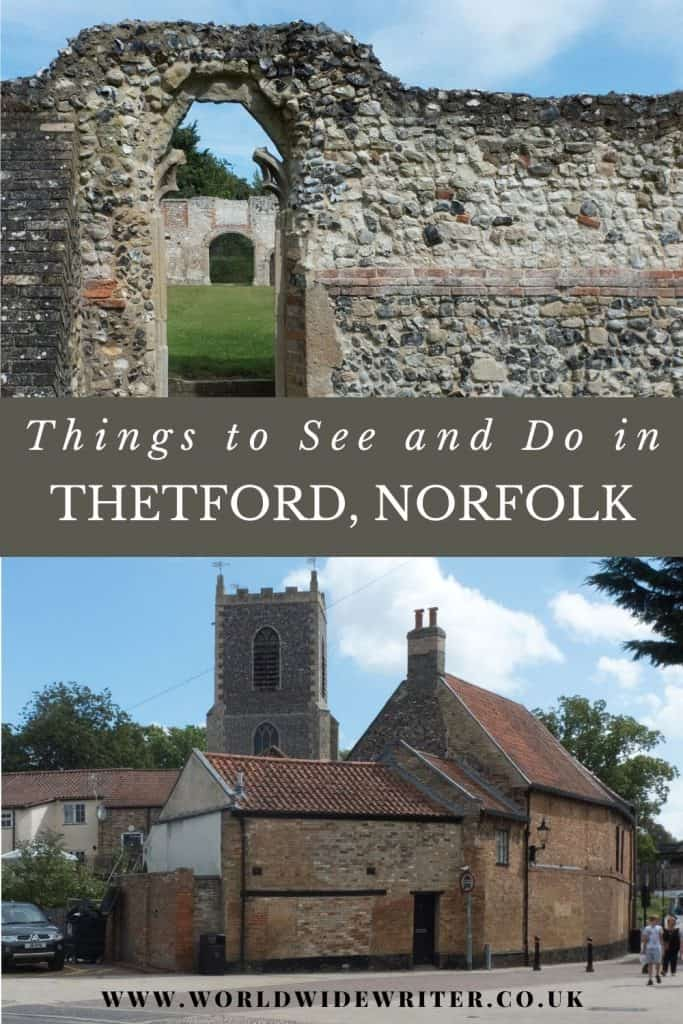 Pinnable image: things to see and do in Thetford