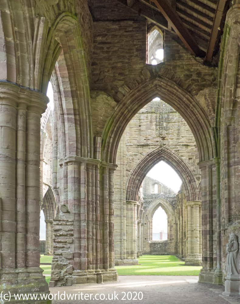 Archways of the Gothic church