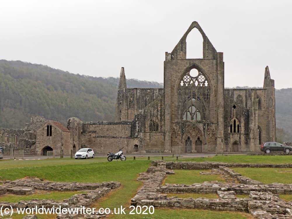 Tintern Abbey church and ruins