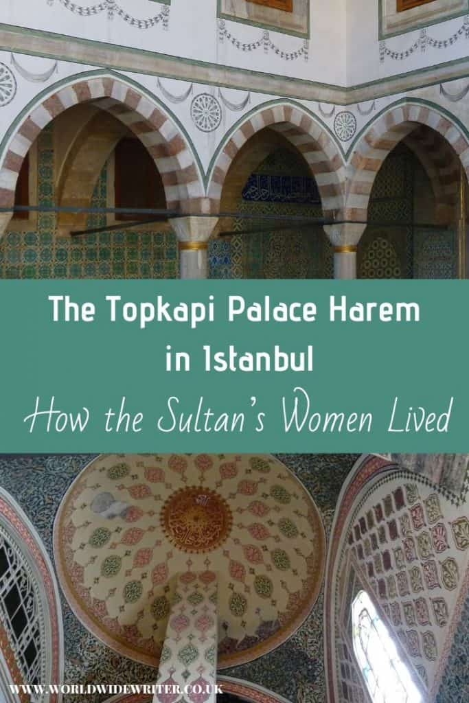 Lavish interiors of the harem