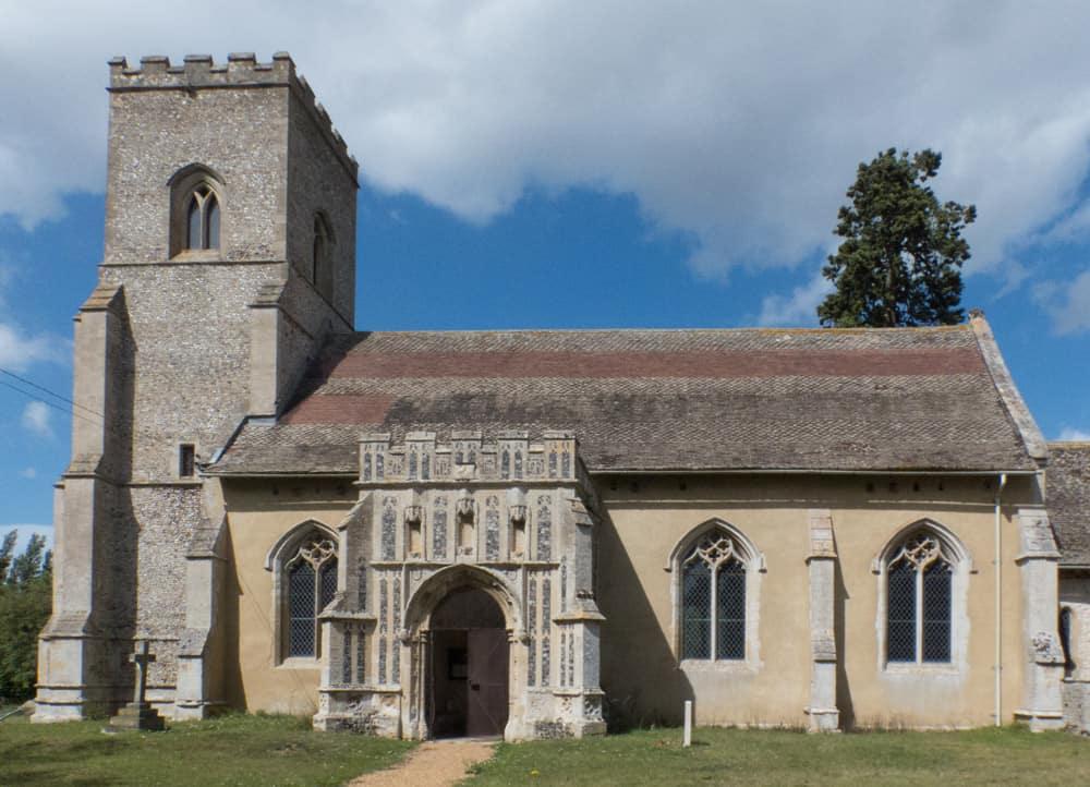 Exterior of Troston church