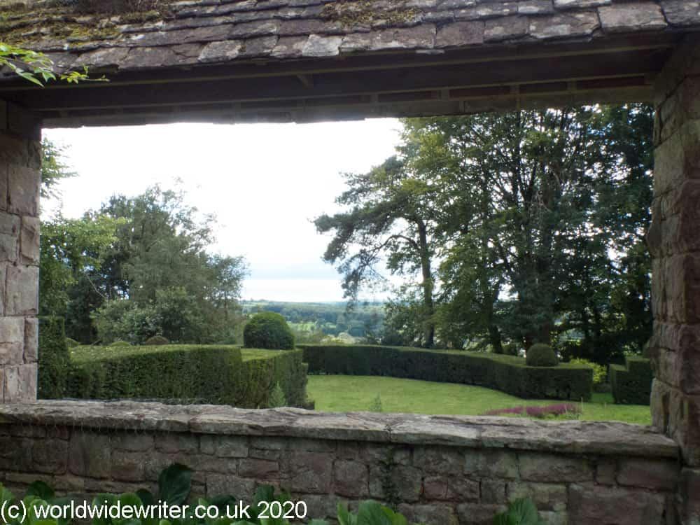 Viewpoint over garden
