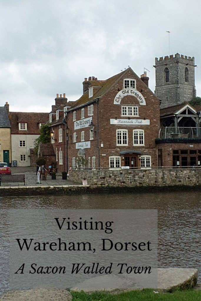 Buildings of Wareham Quay, seen from the river