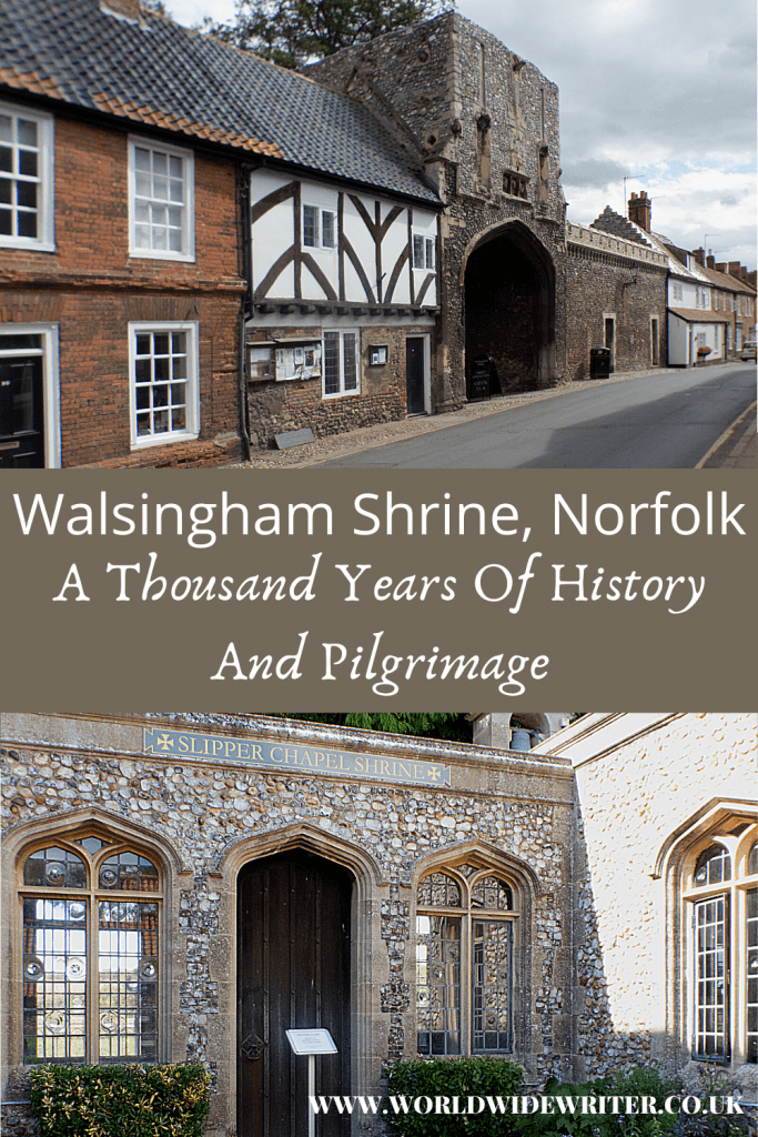 Walsingham village and the Slipper Chapel