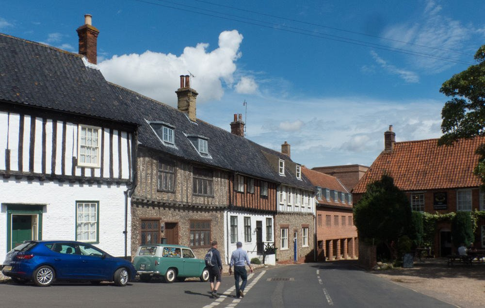 Old houses in Walsingham