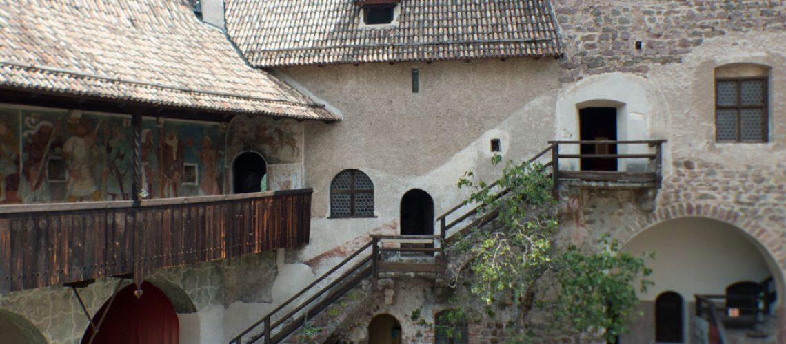 Courtyard of Castel Roncolo, Bolzano