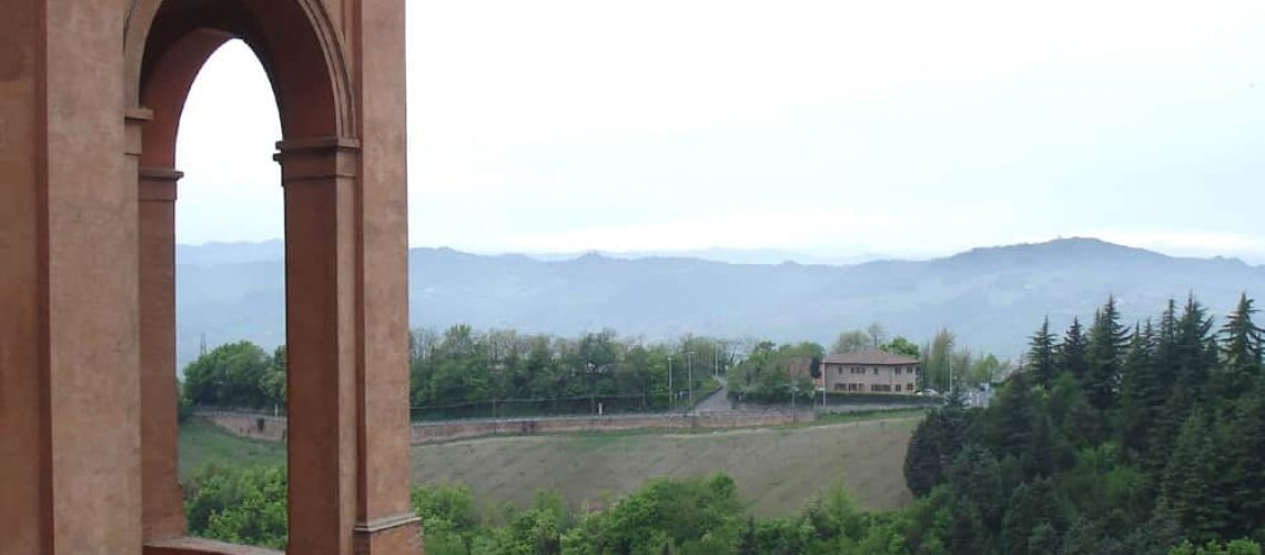 View from the Sanctuary of San Luca, Bologna