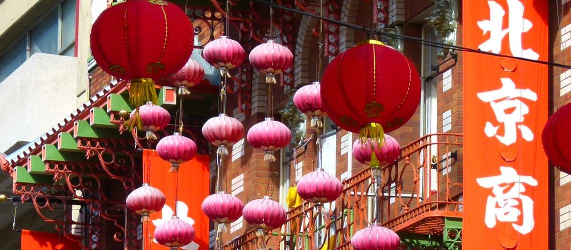 Lanterns of Chinatown