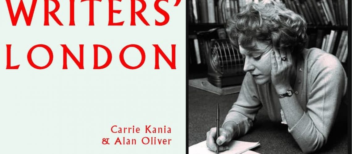 Cover - Writers' London