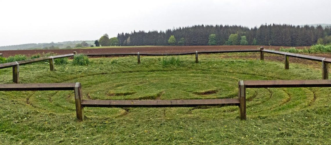 Dalby Turf Maze