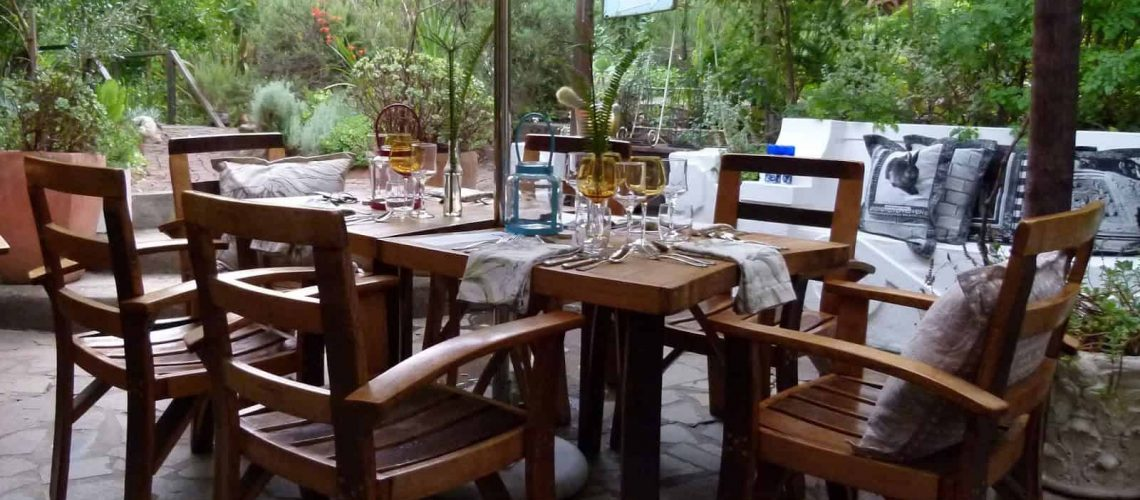 Dining area, Augusta de Mist, Swellendam, South Africa