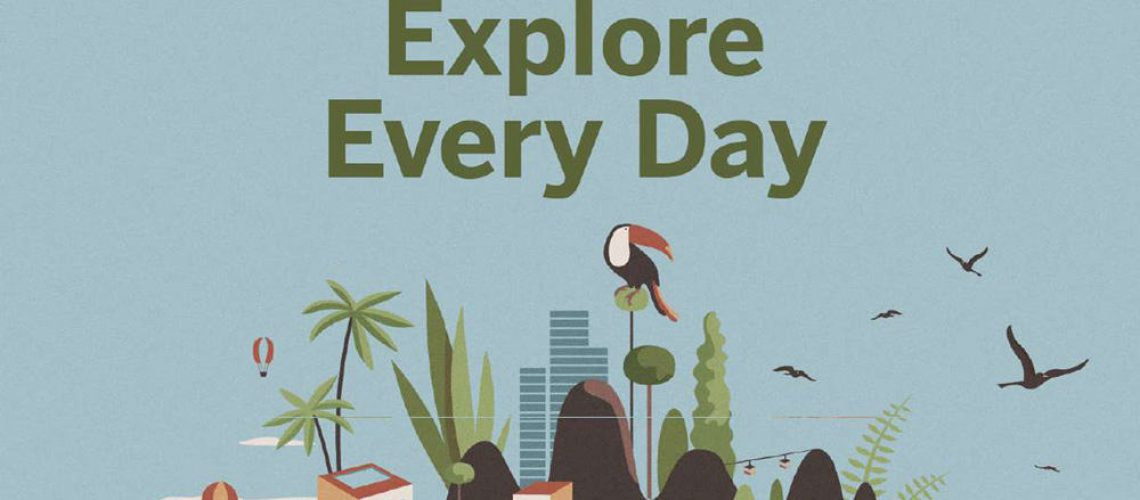 Explore every day by Lonely Planet