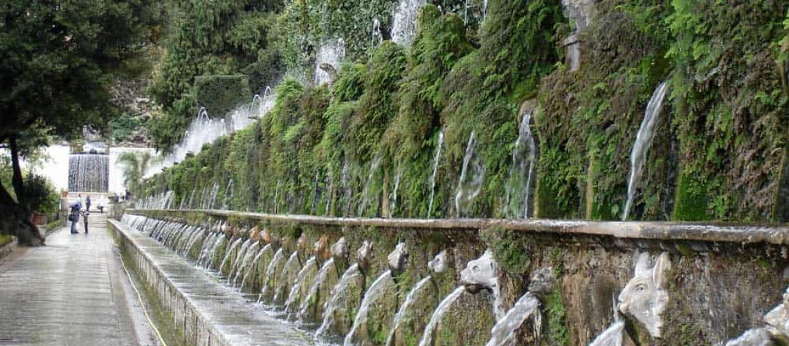 Fountains at the Villa d'Este, Tivoli