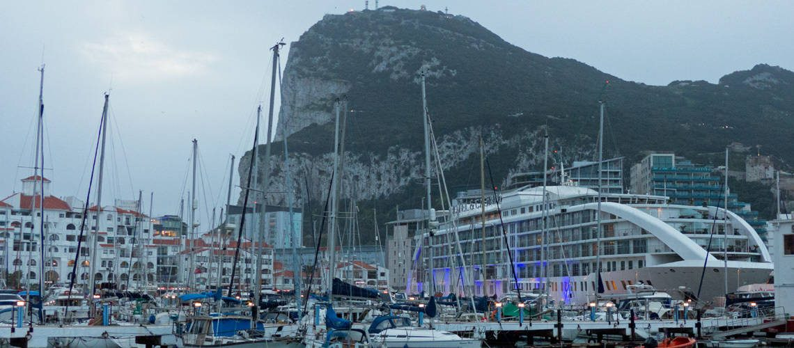 Gibraltar, Rock and ships