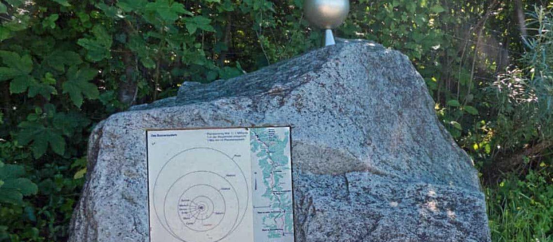 Scale model of Jupiter
