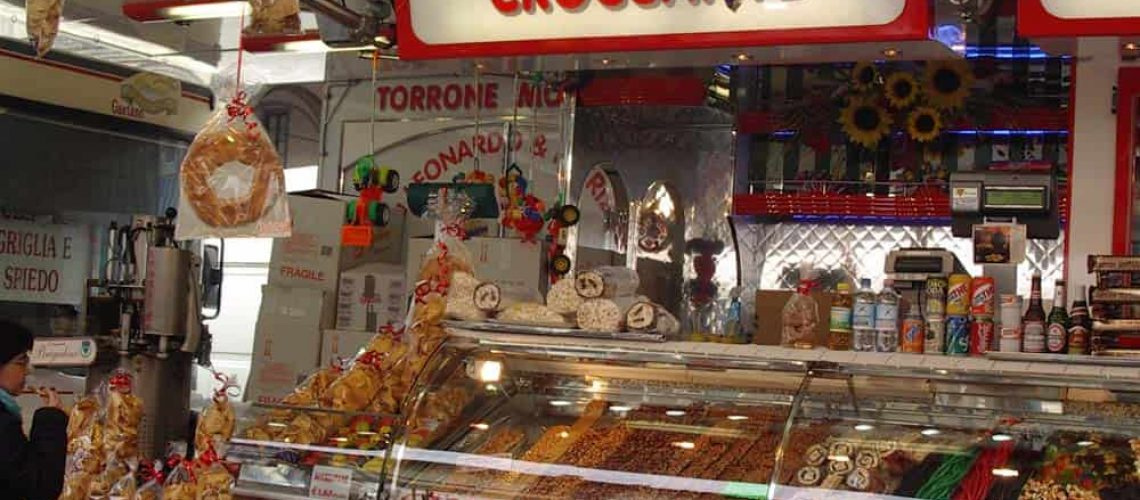 Market stall, Florence