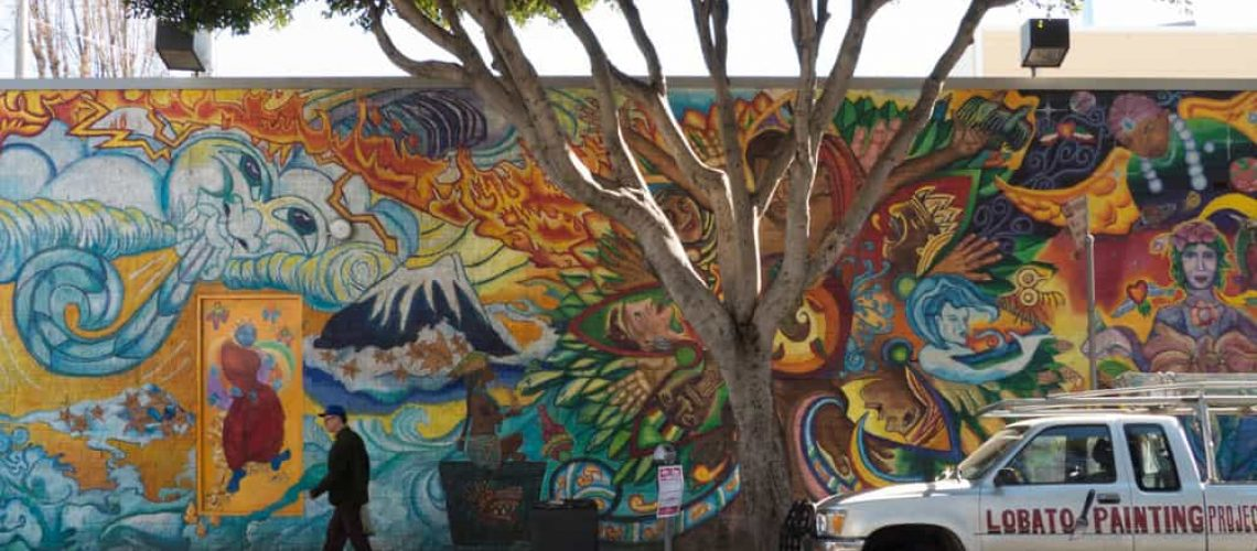 Mission District mural, San Francisco