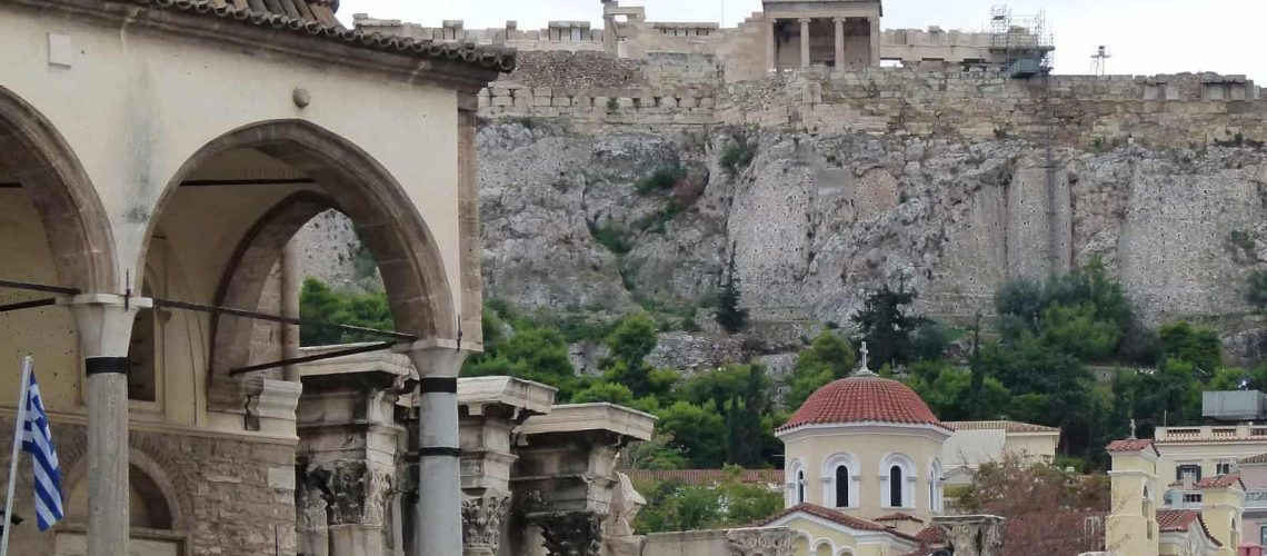 Monastiraki Square, Athens - www.worldwidewriter.co.uk