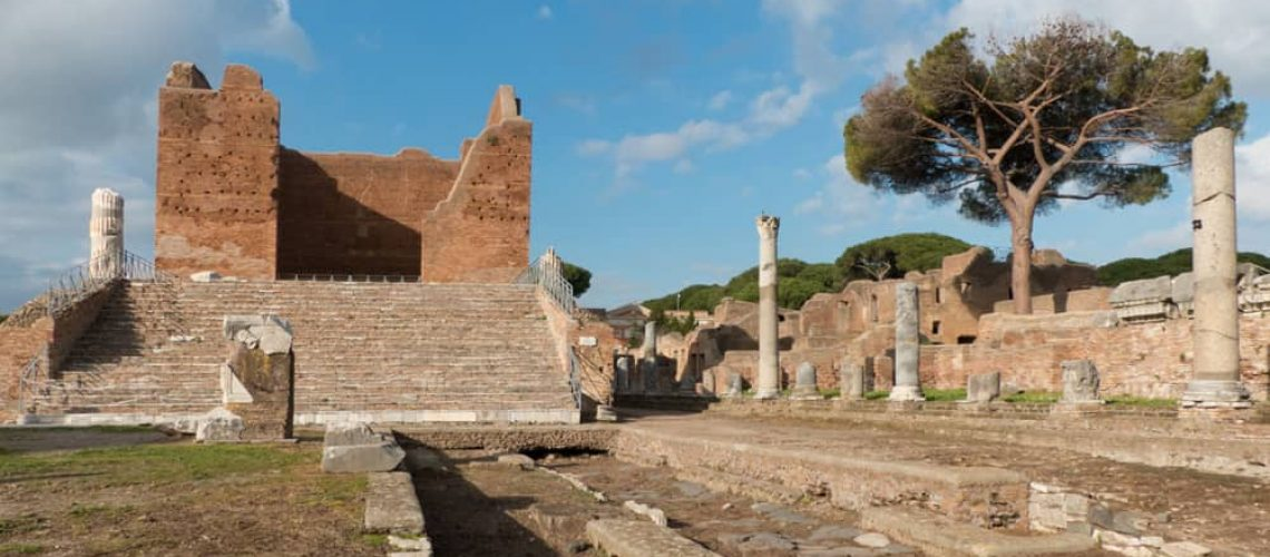 Capitol and Forum, Ostia Antica