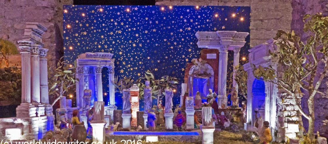 Roman nativity scene