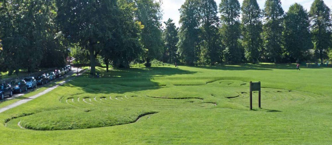 Saffron Walden maze
