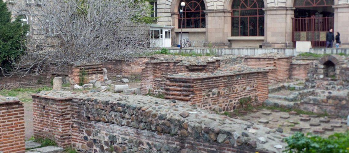 Archaeological site at St George Rotunda, Sofia