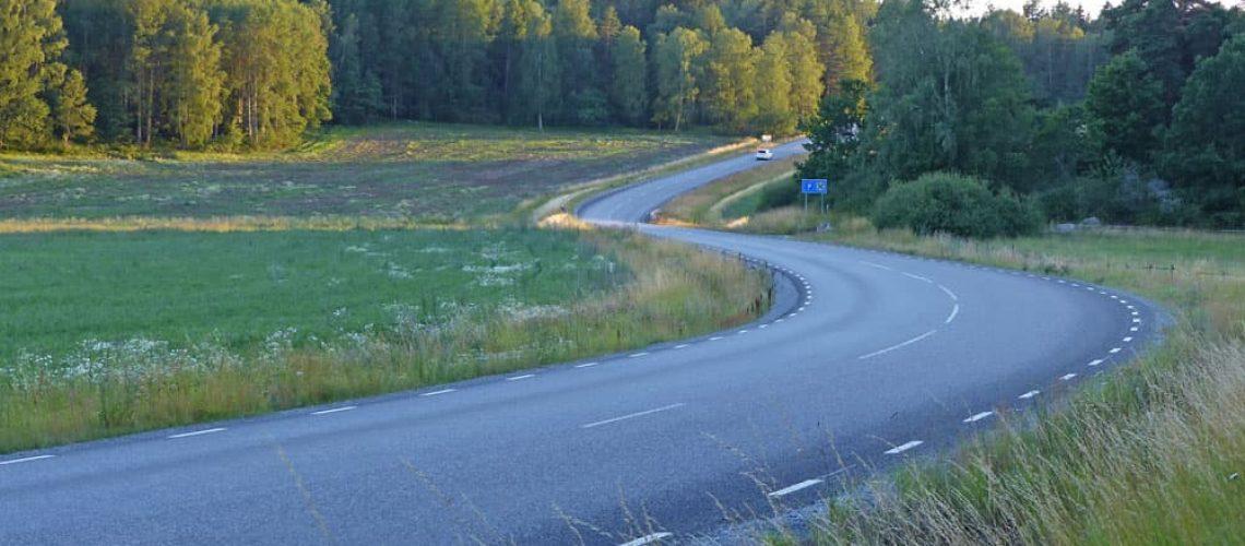 Stockholm forest road