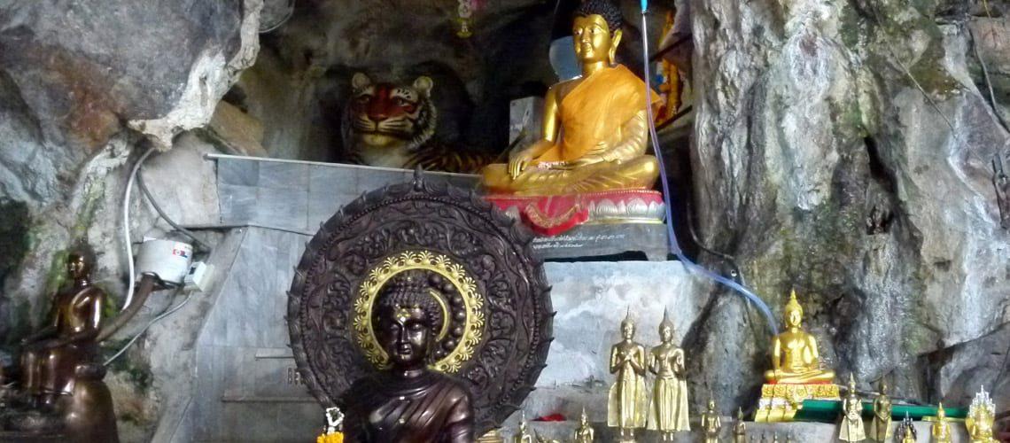 Thai cave temple
