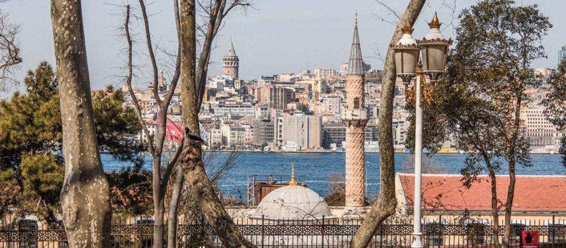 View of the Bosporus